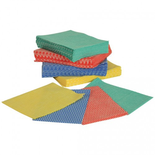 Disposable Wipes Red 36 x 50cm pk50