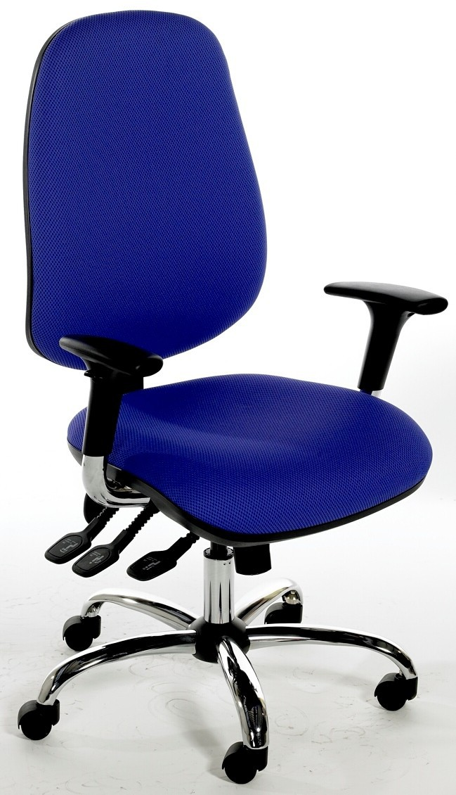 Deluxe Task Chair with Chrome Base