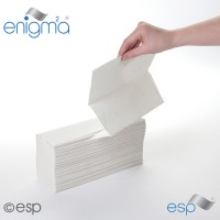 Image for  2 Ply White Multi-Fold Towel  3000 Sheets Packed 20 X 150