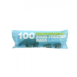 Image for 100% Degradable Large Freezer Bags 50 x 100