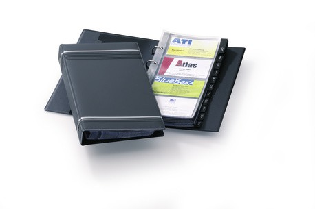 VISIFIX Business Card Album Charcoal