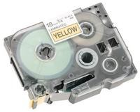 Brother P-Touch Tape TZ641 18mm Yellow/Black