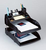 Avery Desktop Letter Tray Black DR100