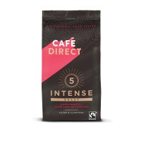 Image for Cafe Direct Intense Roast Ground Coffee Fairtrade 227g Ref:FCR0003 CDQ4