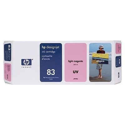 HP 83 Light Magenta UV Ink Pk3 C5077A