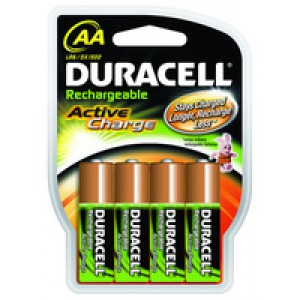 Duracell Rechargeable ACCU NiMH Battery Size D Pack of 2 15038743