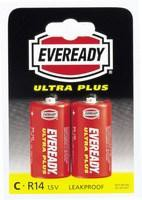 Eveready Battery Silver C Pack of 2 R14B2UP