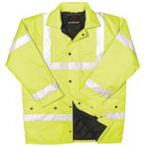 Proforce Class 3 EN471 Site Jacket XX/Large Yellow HJ03YLXXL